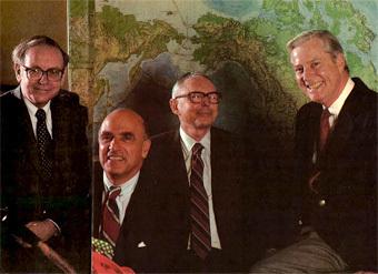 Les rois de l'investissement : Warren Buffett, Walter Schloss, Charly Munger et Bill Ruane