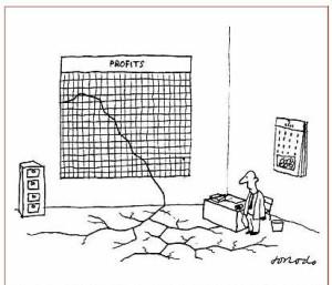 actions cotées en faillite