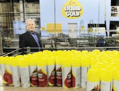 brand de Scott's gold liquid