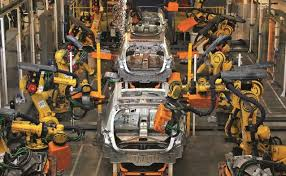 chaîne de montage Peugeot