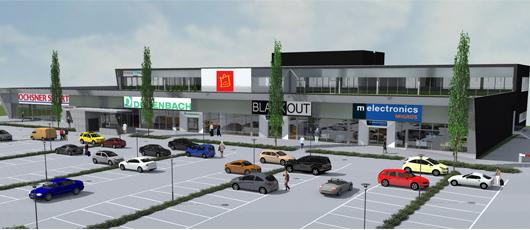 investissement dans un mall