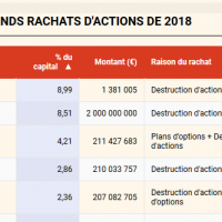 Softimat champion du rachat d'actions en 2018