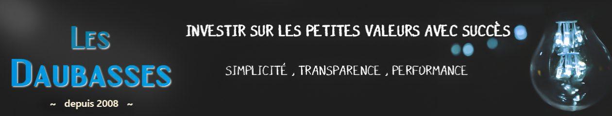 Le Blog des Daubasses – Premier site francophone de l'investissement en bourse dans la valeur